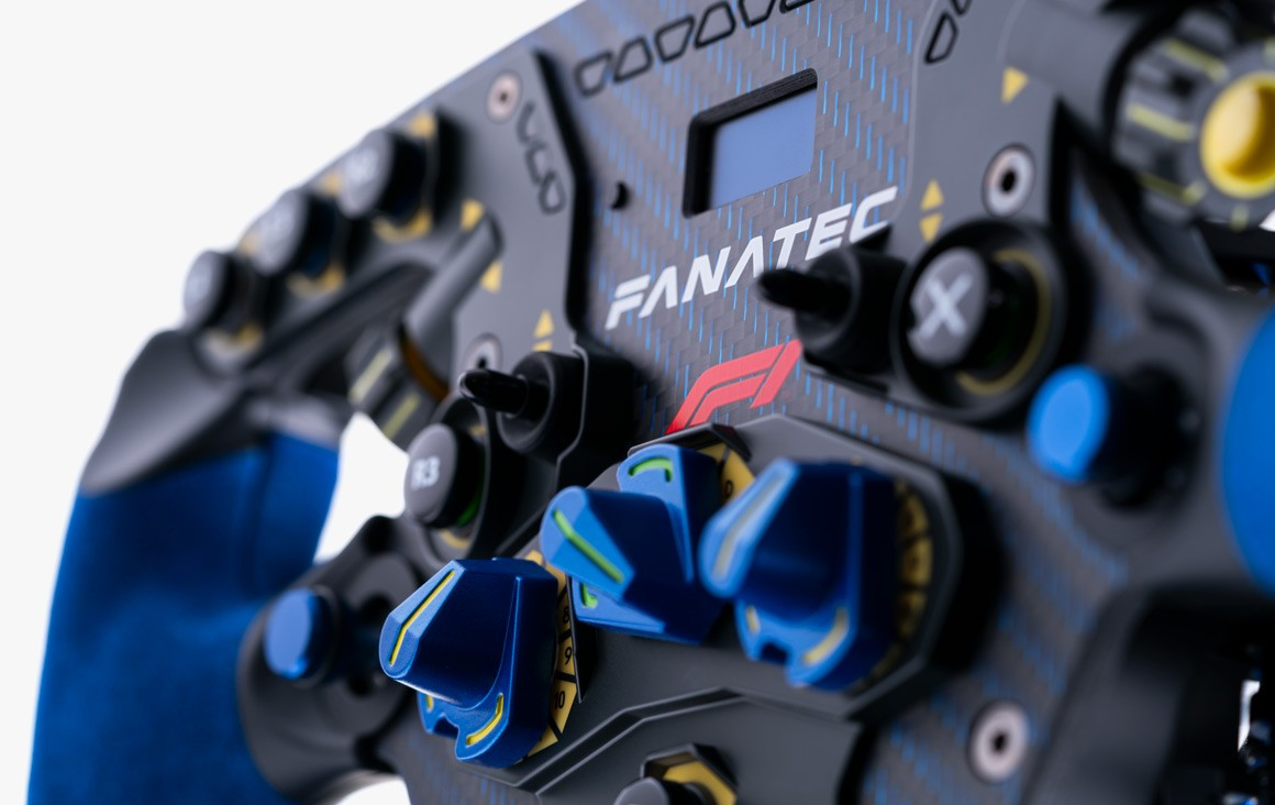Fanatec Podium Racing Wheel Review Front